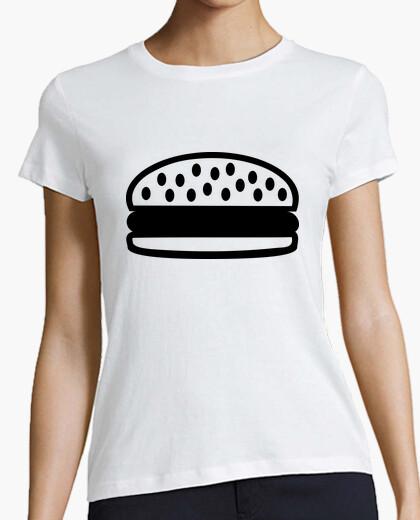 Camiseta icono de la hamburguesa