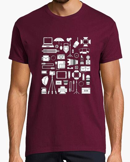 Camiseta Iconos fotografía