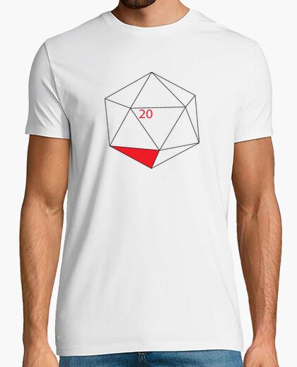 Tee-shirt icosaèdre