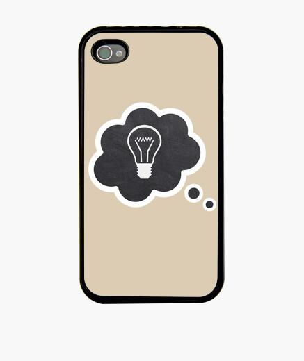 Funda iPhone Idea y bombilla