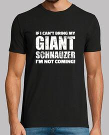 if i cant bring my giant schnauzer im n