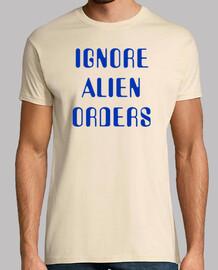 ignorare gli ordini alieni