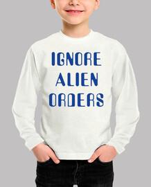ignorer les ordres étrangers