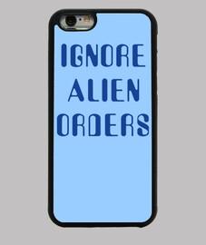 ignorieren alien aufträge