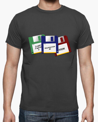 Ii retro video games t-shirt
