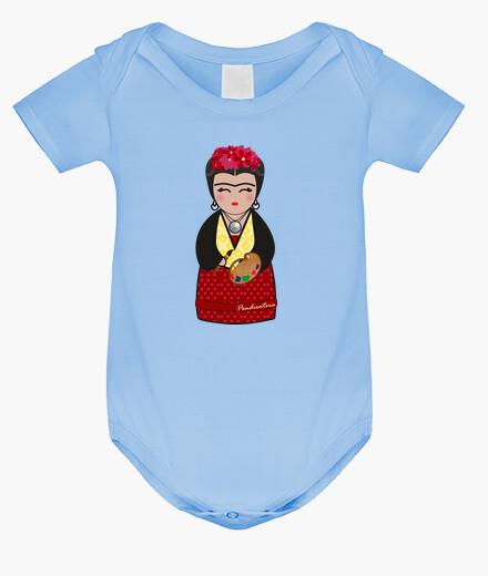 Abbigliamento bambino iii frida kahlo kokeshi
