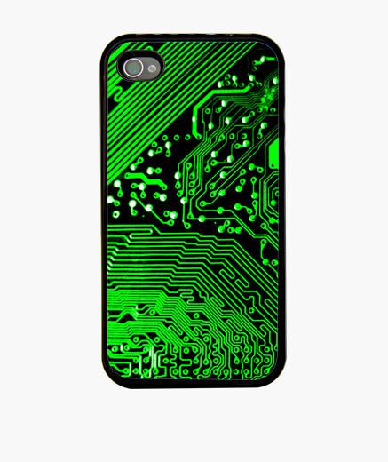 Iii texture circuit iphone cases