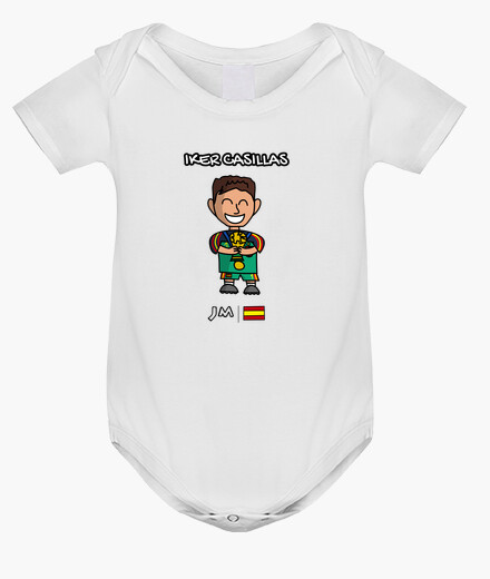 Iker casillas - Spanish goalkeeper kids clothes