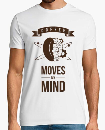 T-shirt Il caffè muove la mia mente