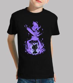 il cavaliere psichico dentro - maglietta per bambini