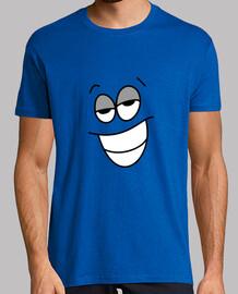 Il confuso - Uomo, manica corta giallo.