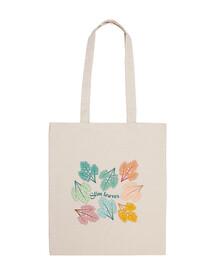 il decoro della moda foglie