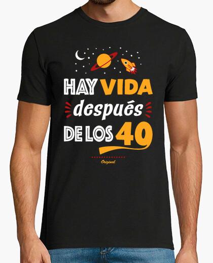 Tee-shirt il est la vie après les 40