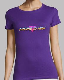 il futuro è ora t-shirt donna
