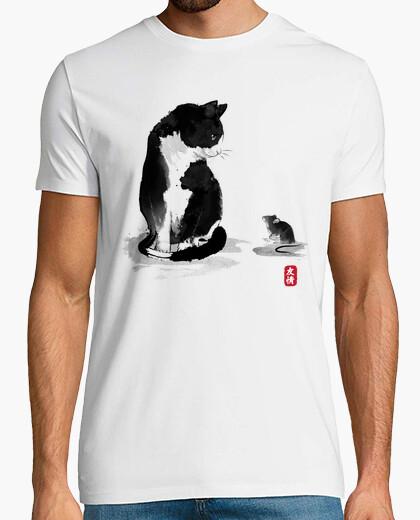 T-shirt il gatto un il little topo