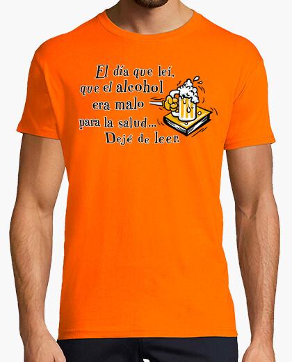 T-shirt il giorno che ho letto che l'alcol era male ..