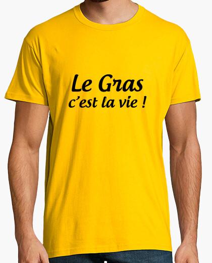 T-shirt il grasso che è la vita / Kaamelott