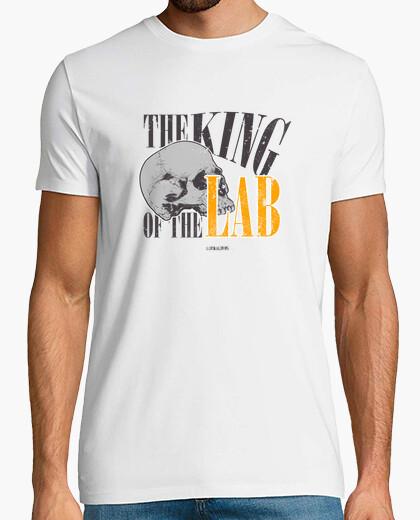 T-shirt il king of bones del laboratorio...
