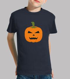 il male zucca di halloween