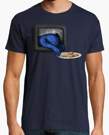 Tee-shirt il mangera tous vos cookies