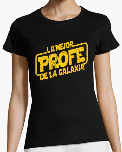 T-shirt il miglior insegnante galaxy