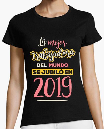 T-shirt il miglior lavoratore del mondo si è ritirato nel 2019