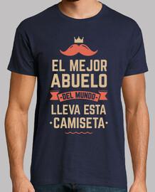 il miglior nonno del mondo indossa questa t-shirt