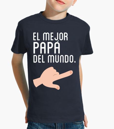 Abbigliamento bambino il miglior papà in la (bambino) duo mondo