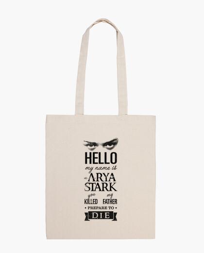 Borsa il mio nome è arya stark 1