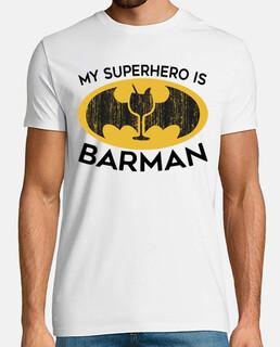 il mio supereroe è barman