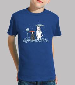 il mio vicino di casa fantasma t-shirt bambino