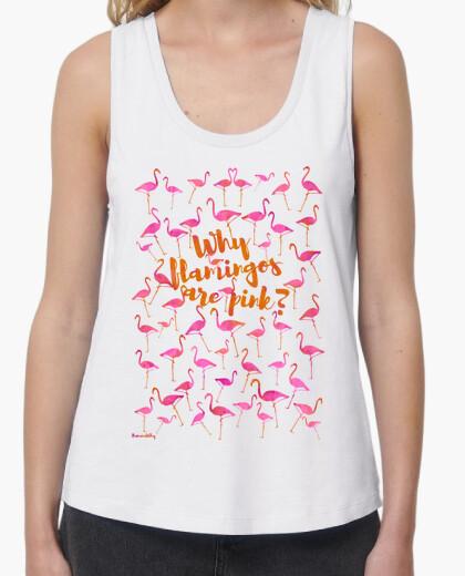 T-shirt il motivo per cui i fenicotteri are rosa?