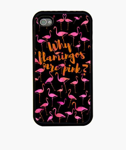Cover iPhone il motivo per cui i fenicotteri are rosa?