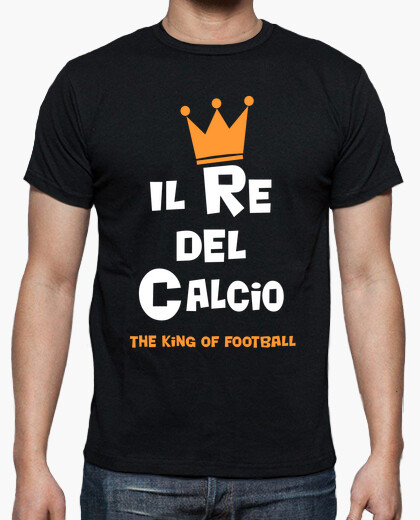T-shirt il re di calcio