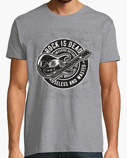 T-shirt il rock è morto
