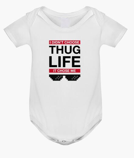 Abbigliamento bambino il thug life ha scelto me