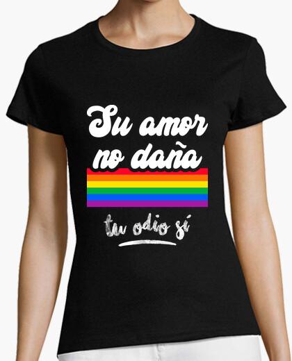 T-shirt il tuo amoree non fa male il tuo odio s