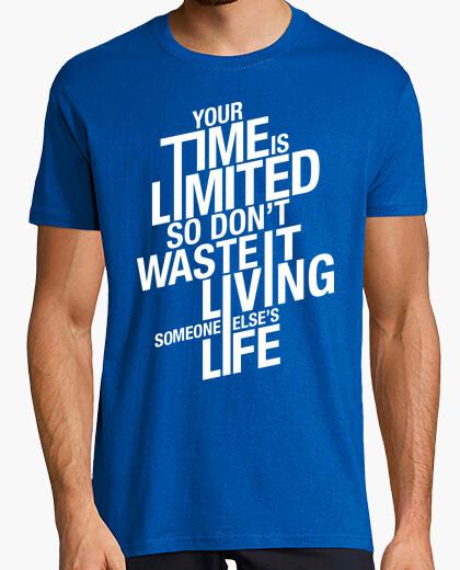 T-shirt Il tuo tempo è limitato