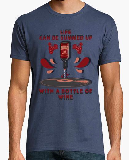 T-shirt il vino è musica