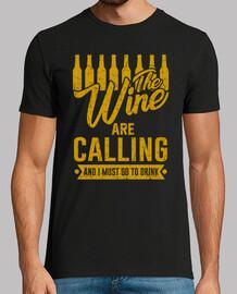 il vino stanno chiamando