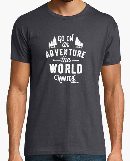 T-shirt il world attende