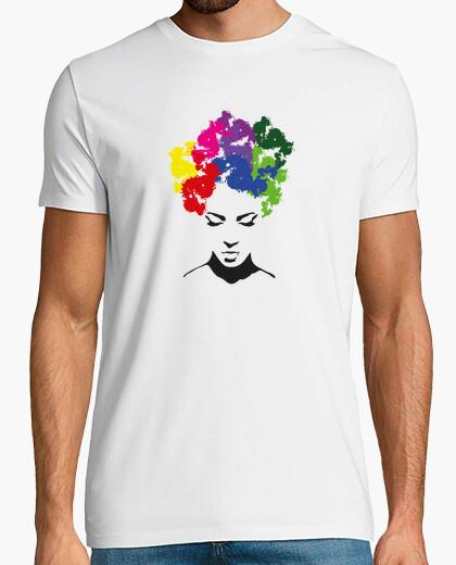 Illustration wigs t-shirt