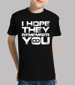Ils se souviennent de vous, je l'es