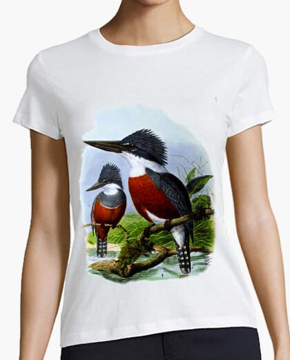 Camiseta Ilustración antigua - Pájaros