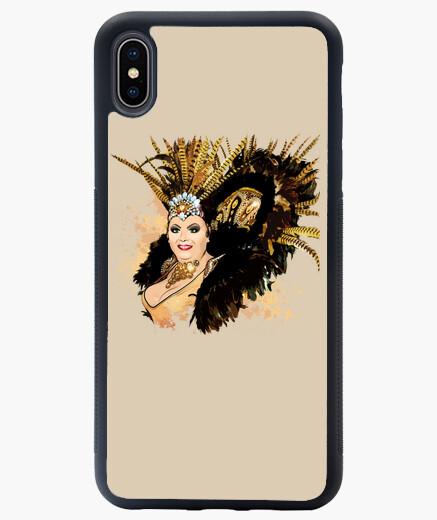 Funda iPhone XS Max ILUSTRACIÓN PEKA MIMOSA PRIDE-2  PETART