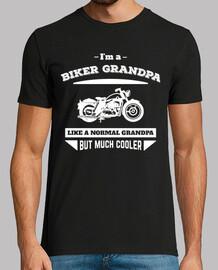 I'm a Biker Grandpa Like A Normal Grandpa But Much Cooler