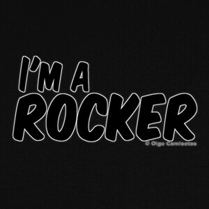 Tee-shirts I'M A ROCKER black