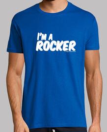 I'M A ROCKER white