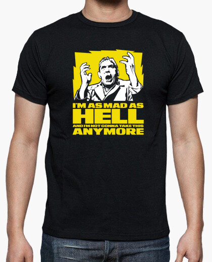 Camiseta I'm as mad as hell (Network)