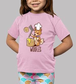 im faire woofles - chemise enfants